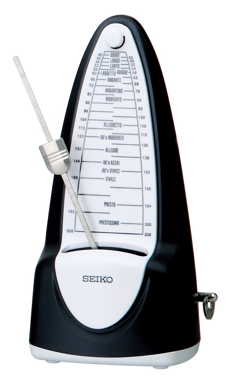 Seiko SPM320 Traditional Keywound Metronome (japan import) SPM320BK