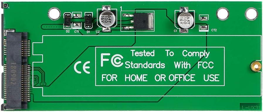 استبدال لوحة تحويل بطاقة المحول لجهاز Asus UX31 UX21 XM11 SSD إلى SATA III