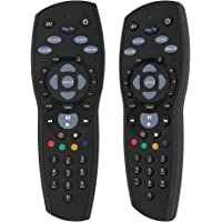 Gvirtue Remote Controller Replacement Device for PayTV IQ2 IQ3 S1 / Foxtel Box/Sky New Zealand/Mystar HD (Black)