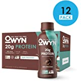OWYN, Vegan Protein Shake, Dark Chocolate,12 Fl Oz (Pack of 12), 100-Percent Plant-Based, Dairy-Free, Gluten-Free, Soy-Free, Tree Nut-Free, Egg-Free, Vegetarian, Kosher …