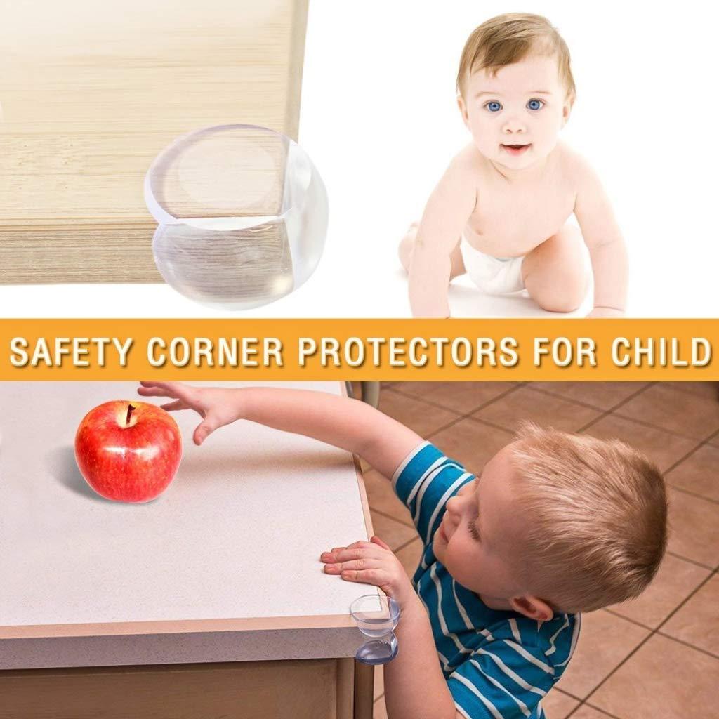 24Pcs Baby Corner Guards DreamJ Silicone Corner Protectors Guards Cover Corner Cushion for Kids Desk Shower Kitchen Fireplace Countertop Furniture Set