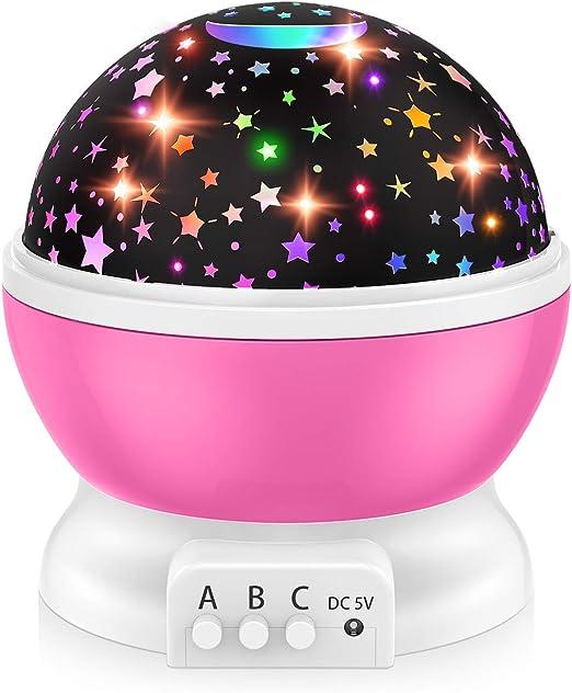 Image of Dreamingbox Proyector de Cielo Estrellado de luz Nocturna Multifuncional para Niños 14 Colores