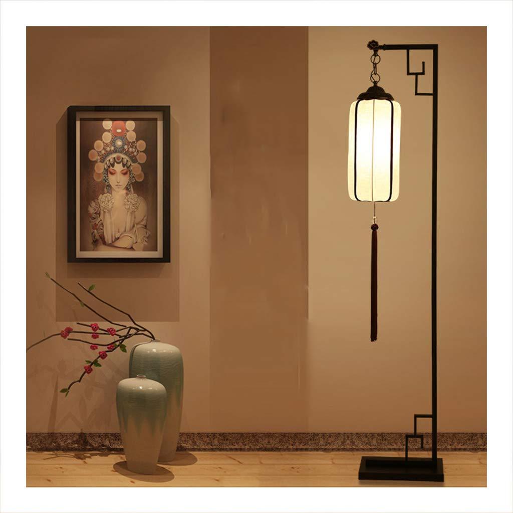 フロアランプ 新しい中国スタイルのフロアランプ、アンティークのリビングルームの寝室LED直立ライト B07PTQM8P3、リモートコントロールの調光フロアランプ B07PTQM8P3, シオヤマチ:095e6e27 --- centrohospitalariomac.com.mx