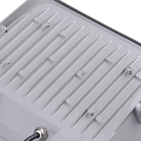 4 x 100 W blanca fría LED SMD foco PIR Sensor de movimiento de überwachungsgartenbeleuchtung Bombilla 220 V, 6000 K de 6500 K, impermeable lámpara de ...