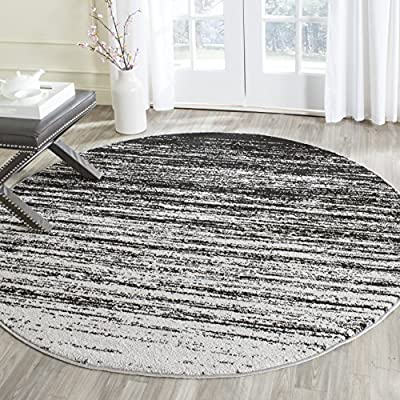 Safavieh Adirondack Collection ADR113C Light Grey and Grey Modern Area Rug -  - living-room-soft-furnishings, living-room, area-rugs - 61LQ8a2y%2BpL. SS400  -