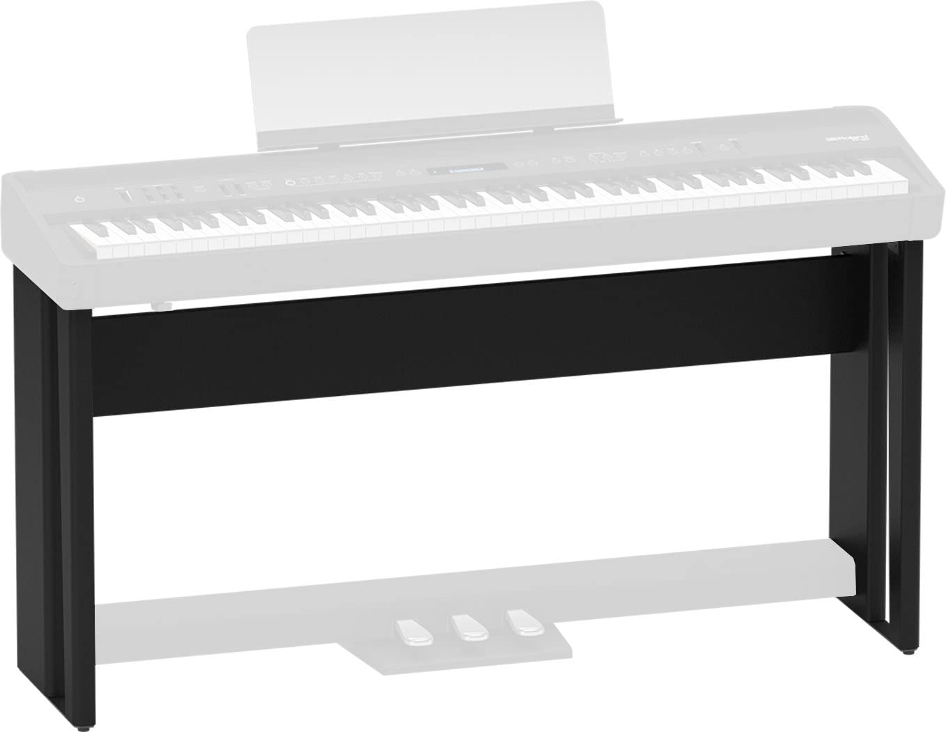Roland KSC-90 Electronic Keyboard Stand for FP-90, Black