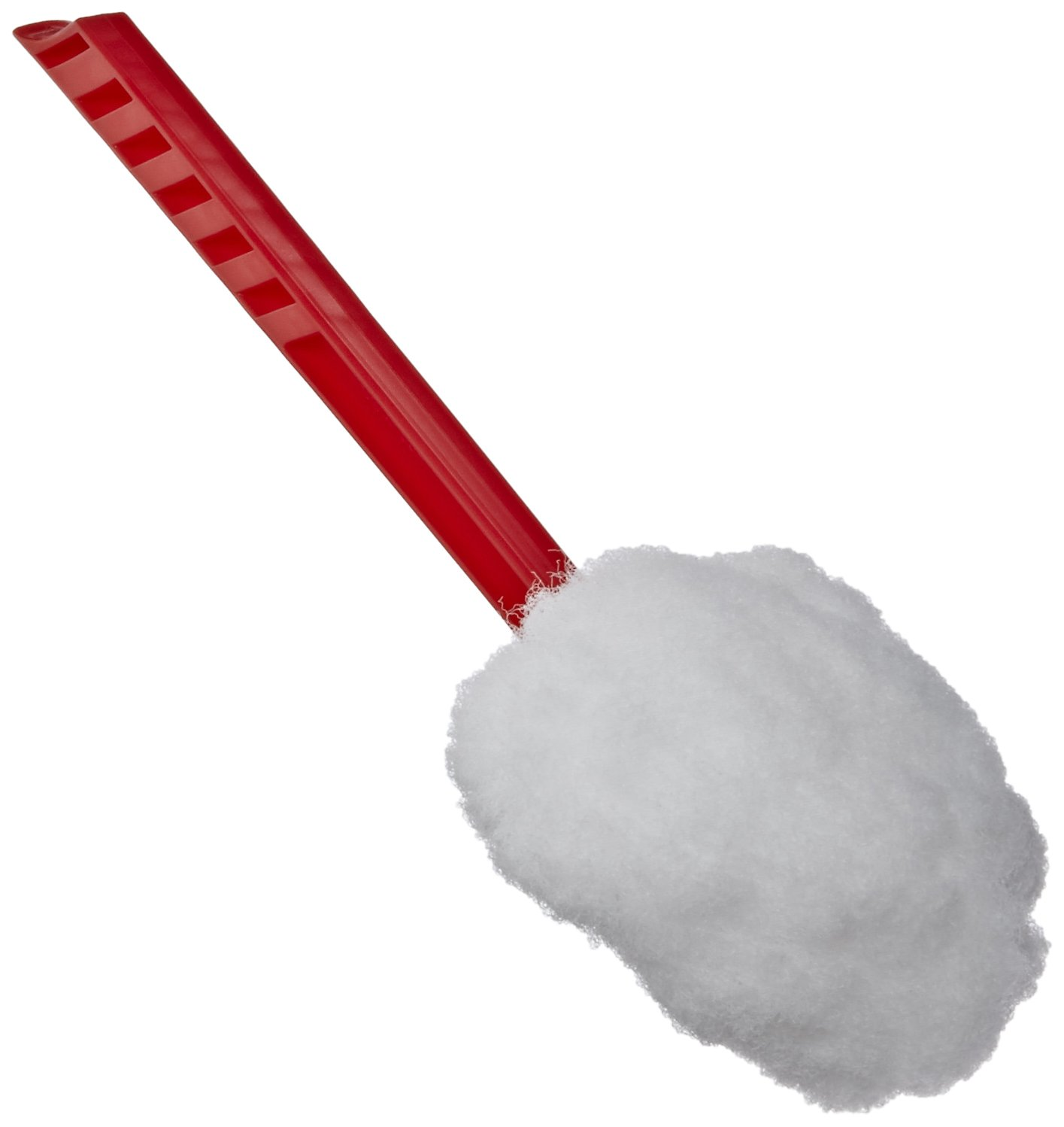 Impact 203 Deluxe Toilet Bowl Mop, 12'' Length x 5-3/4'' Height, Red (Case of 100)