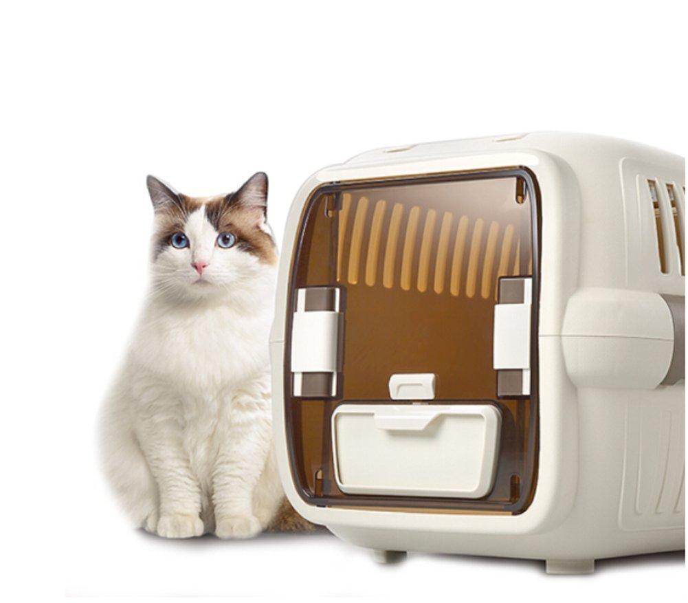 Cutepet Bolso De Hombro Portador De Viaje para Perros Cómodo Bolso De Hombro Portador De Viaje Aprovado por La Aerolínea para Mascotas Perros Y Gatos LX-074,M