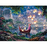 Ceaco Tangled Thomas Kinkade Disney Jigsaw Puzzle - 750 pieces