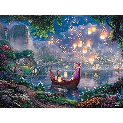 Ceaco Disney Rapunzel Tangled Thomas Kinkade Puzzle