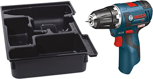 Bosch PS32BN Bare-Tool 12-volt Max Brushless 3 8-Inch Drill Driver with Insert Tray for L-Boxx