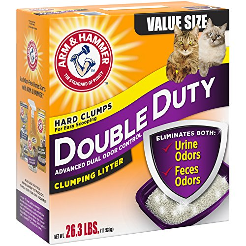 Arm & Hammer Double Duty Litter, 26.3 Lbs (Packaging May Vary)