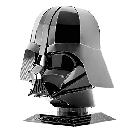 bf1985a48 Image Unavailable. Image not available for. Color  Fascinations Metal Earth  Star Wars Darth Vader Helmet ...