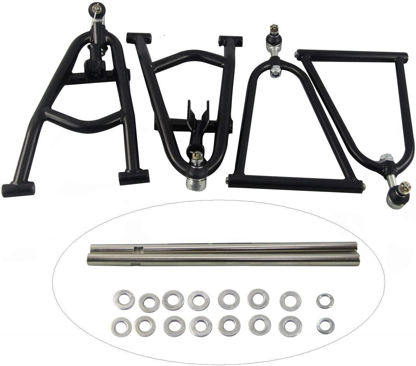 CoolingCare Front A-arm+2 Wider Extender for for Yamaha Raptor 660 660R 2001-2005
