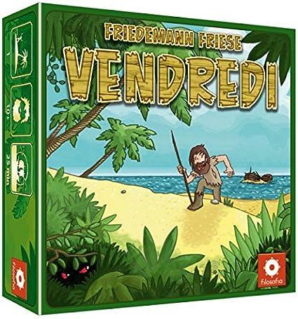 Asmodee – ven01 – Juego de salón – Viernes: Amazon.es: Juguetes y ...