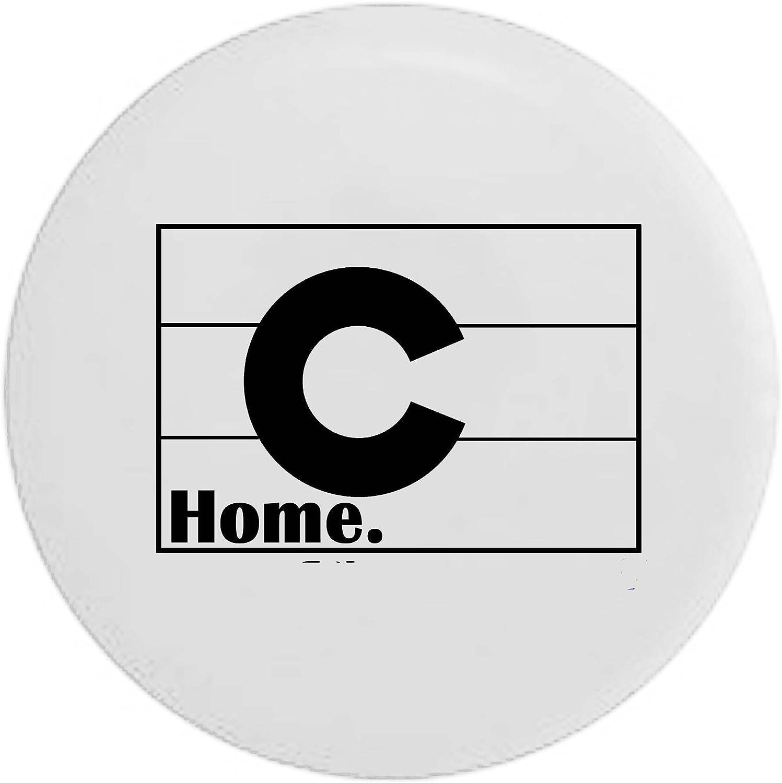 Pike Camo Colorado Flag Home State Edition RV Spare Tire Cover OEM Vinyl Black 27.5 in