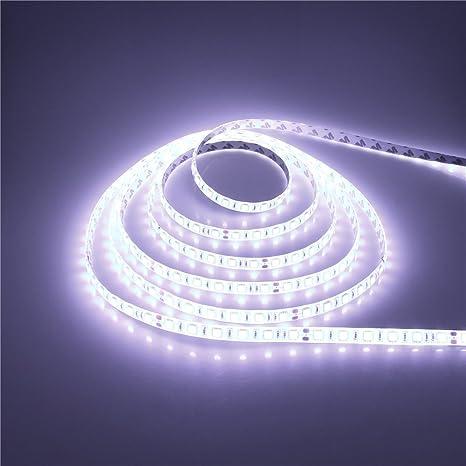 Amazon alitove 328ft 5050 cool white led flexible strip light alitove 328ft 5050 cool white led flexible strip light dc24v ip65 waterproof 10m 600 leds aloadofball Images