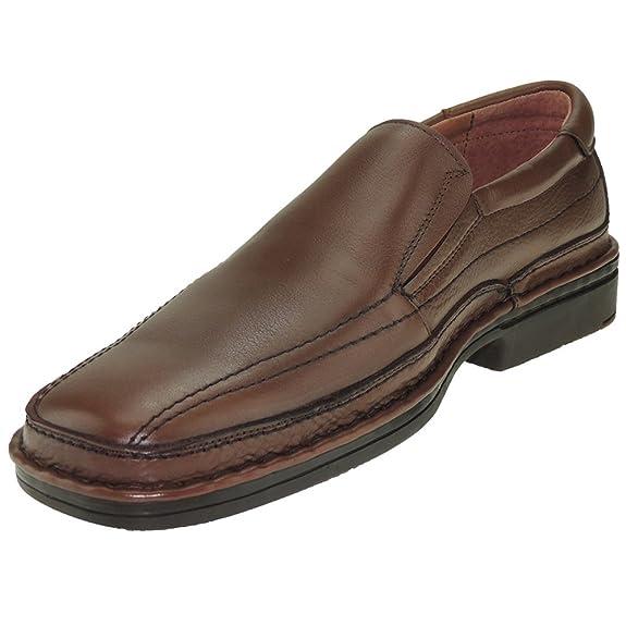 RODRI 8801 Zapato Mocasín Confortable Tipo 24 Horas para Hombre Cuero Talla 44: Amazon.es: Zapatos y complementos