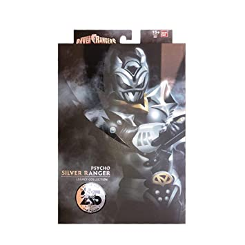buy power rangers in space psycho silver ranger legacy collection 6 inch action figure entertainment earth exclusive online at low prices in india amazon in buy power rangers in space psycho