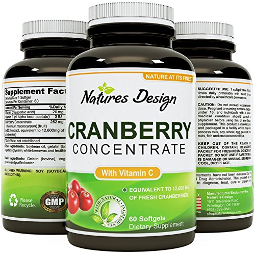 Cranberry Concentrate Pills Proanthocyanidins Antioxidant product image