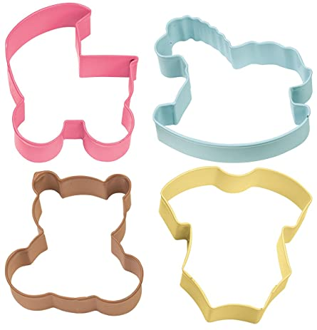 Nice Wilton Baby Theme Cookie Cutter 4 Piece Set