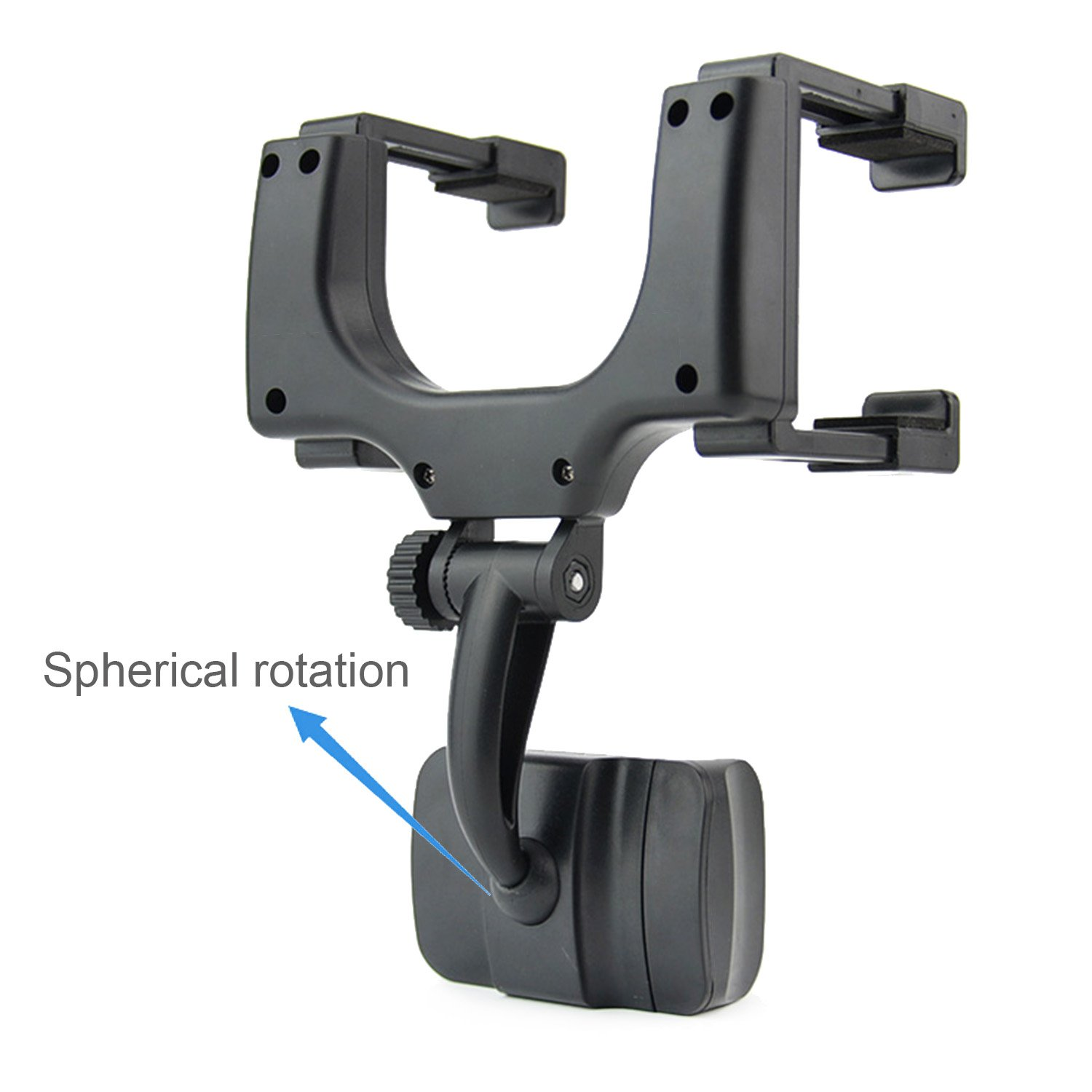 Car Rearview Mirror Mount Truck Auto Cell Phone Holder for iPhone X//8//8Plus//7//6s Google Nexus Samsung Galaxy S8//S7//S6 Edge 4333131235 GPS//PDA // MP3 // MP4 Devices and More Black INCART Magnetic Car Mount