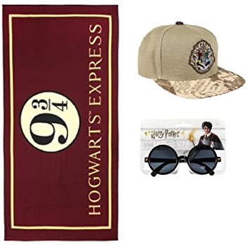 Toalla de Harry Potter - Gorra de Harry Potter - Gafas de Sol de Harry Potter: Amazon.es: Hogar