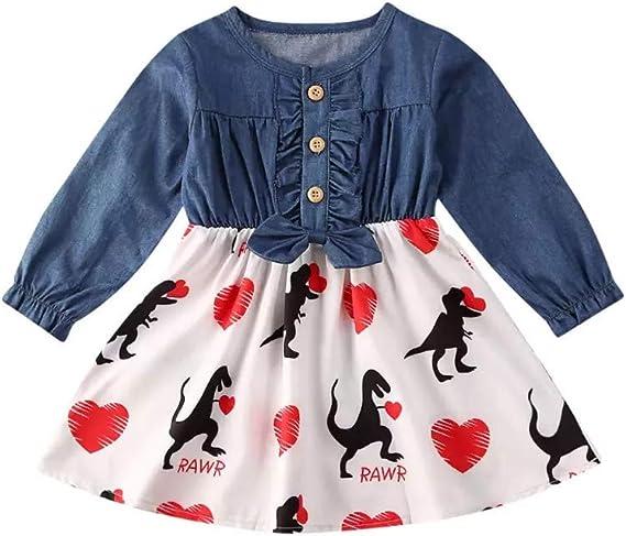 Girls Clothing Skirts for Girls Girl/'s Dinosaur Skirt Dinosaur Gift Kids Clothing