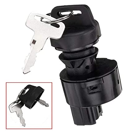 WFLNHB Ignition Switch with Key Fit for 2008-2009 Yamaha Rhino 700//2006-2009 Yamaha Rhino 450//2004-2007 Yamaha Rhino 660 5UGH25100000 5UG-H2510-00-00