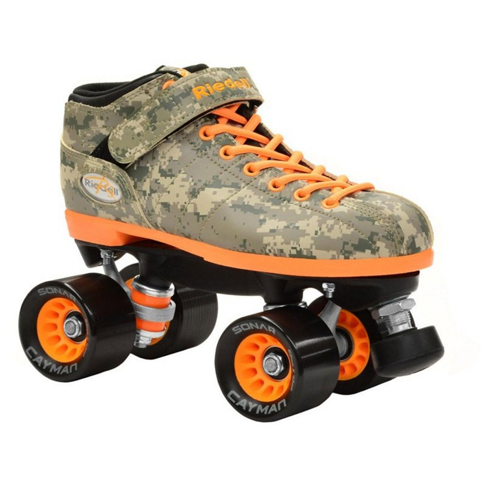 Riedell R3 Camo Speed Roller Skates 2015 11.0 by Riedell