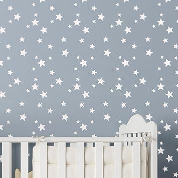 5-Point Étoile Grappe Mur Pochoir Pour Peinture: Amazon.Fr: Bricolage
