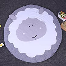 """Smartcoco Round Kids Play Game Cotton Mats Carpet Rugs Baby Crawling Blanket for Baby Room Floor Decoration Gifts, 35"""" x 8"""""""