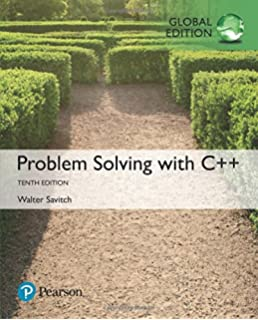 walter savitch problem solving with c++ 8th edition pearson 2012