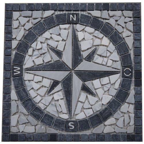 Mosaik kompass my detraiteurvannederland blog for Bodenfliesen mosaik