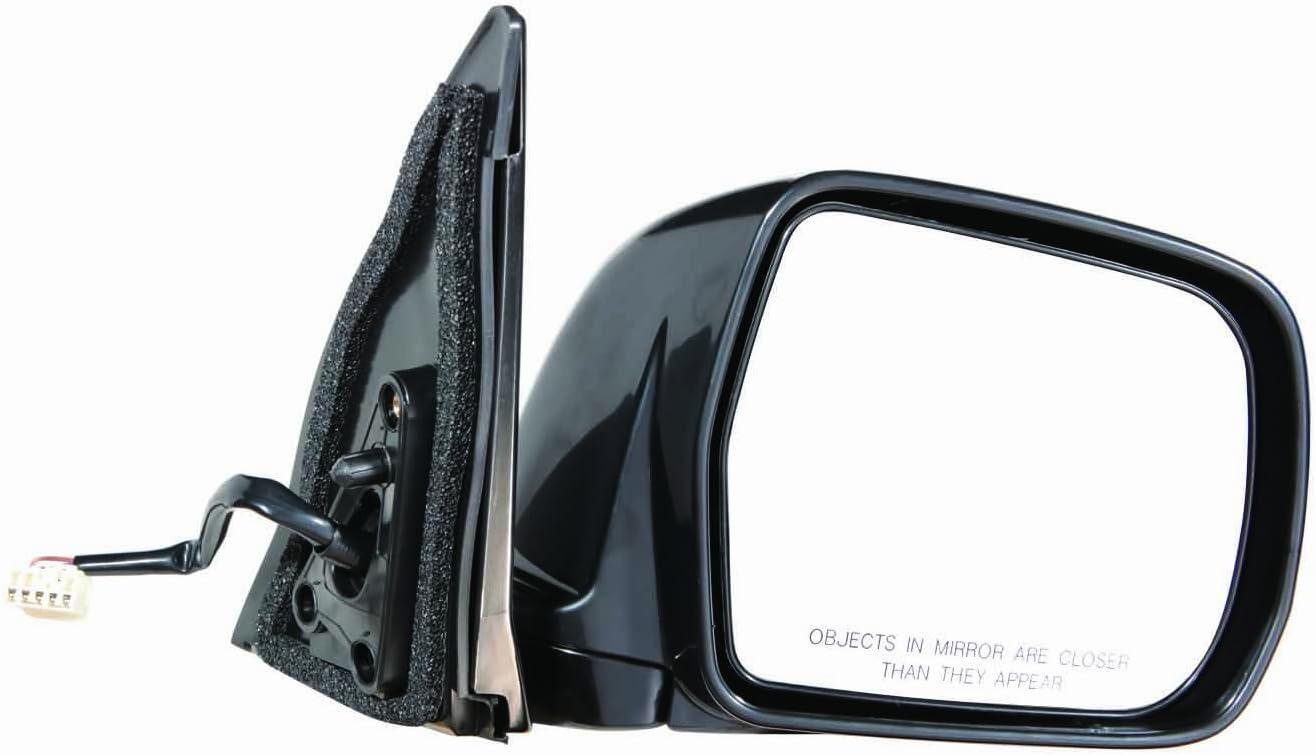 Depo 312-5419R3EBN Black Passenger Side Power Non-Heated Mirror
