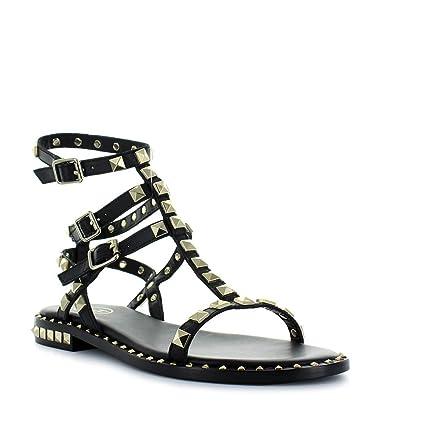 Ash Chaussures Femme Sandales Poison Noir Printemps-Été 2018  Amazon.fr   Vêtements et accessoires 035f72b5cde2