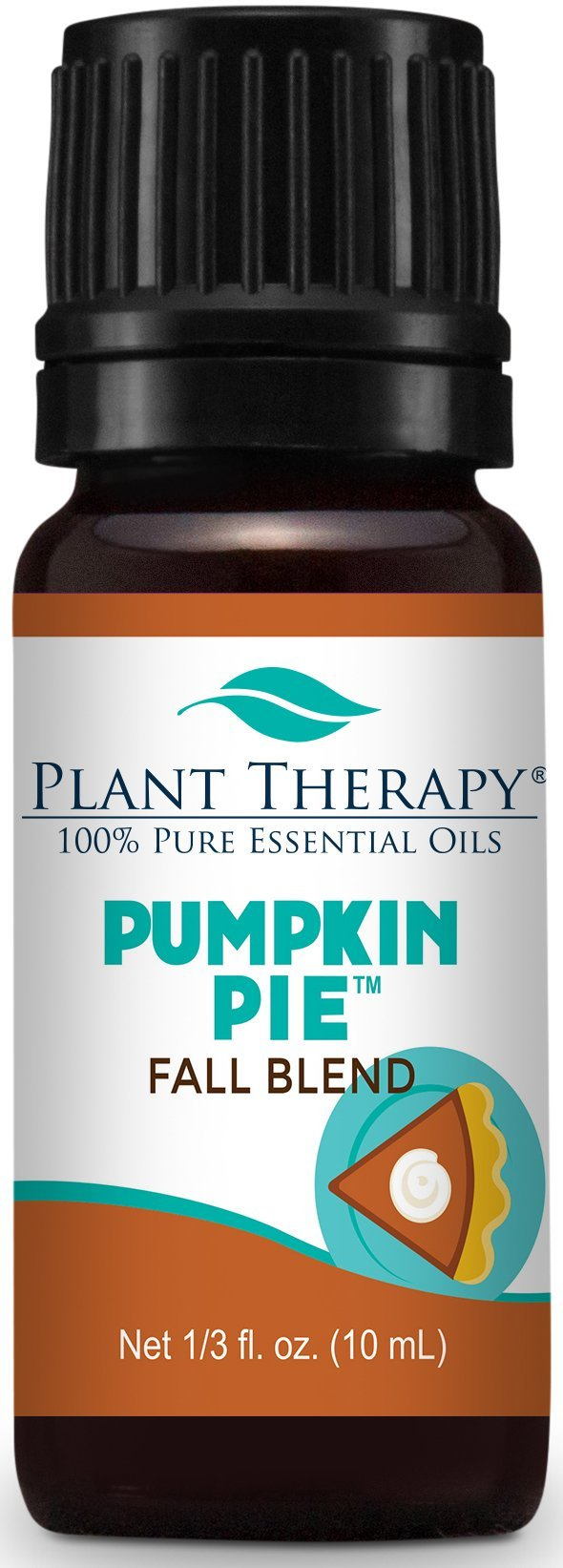 Plant Therapy Pumpkin Pie Holiday Synergy Essential Oil Blend 10 mL 100% Pure, Undiluted, Therapeutic Grade