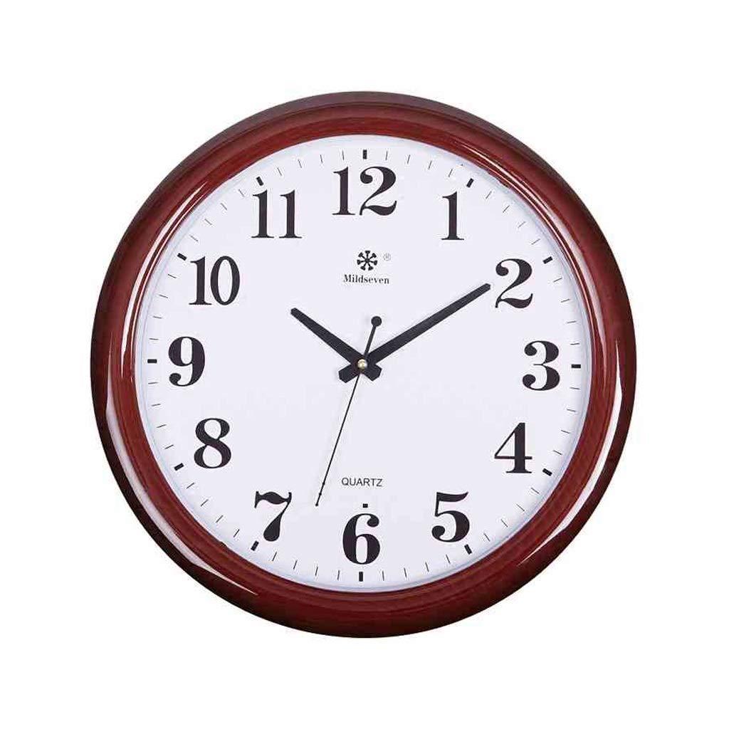Cxf cui Wanduhr Wohnzimmer Uhr Einfache Kreative Elektronische Quarzuhr Home Ruhig Büro Uhr Hängenden Tisch (Farbe   A)