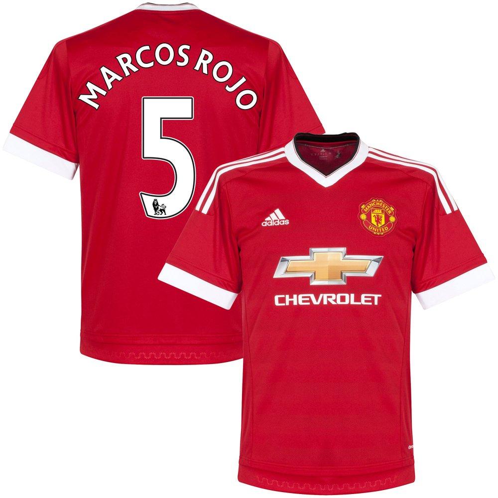 Man Utd Home Trikot 2015 2016 + Marcos Rojo 5