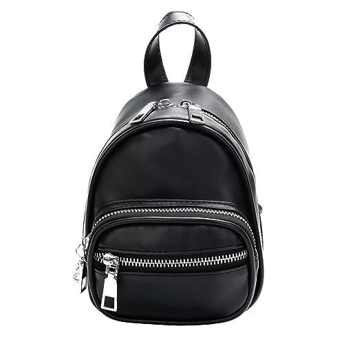 Wiltson Mochila de moda para mujeres de alta calidad mochilas de cuero para niñas adolescentes mochila escolar mochila BackpackBolso bandolera de cuero ...