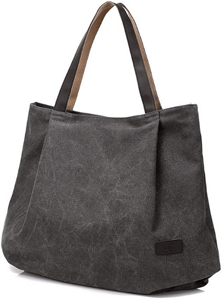 Canvas Tote Bag Shoulder...