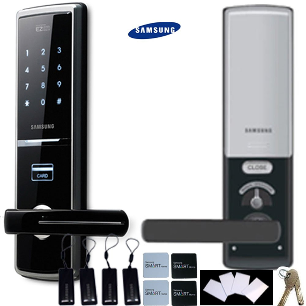 SAMSUNG SHS-H620 neue version SAMSUNG SHS-5120 Digitales Türschloss Sicherheit schlüsselloses touchpad EZON thumbnail