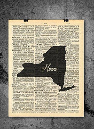 vintage map new york - 6