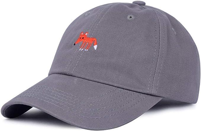 sdssup Gorra de béisbol Bordada Fox Gorra de Verano para Mujer ...