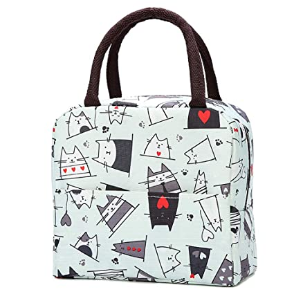 a6d6e59429ad Amazon.com: Insulated Lunch Bag Cooler Tote Lunch Box for Men Women ...