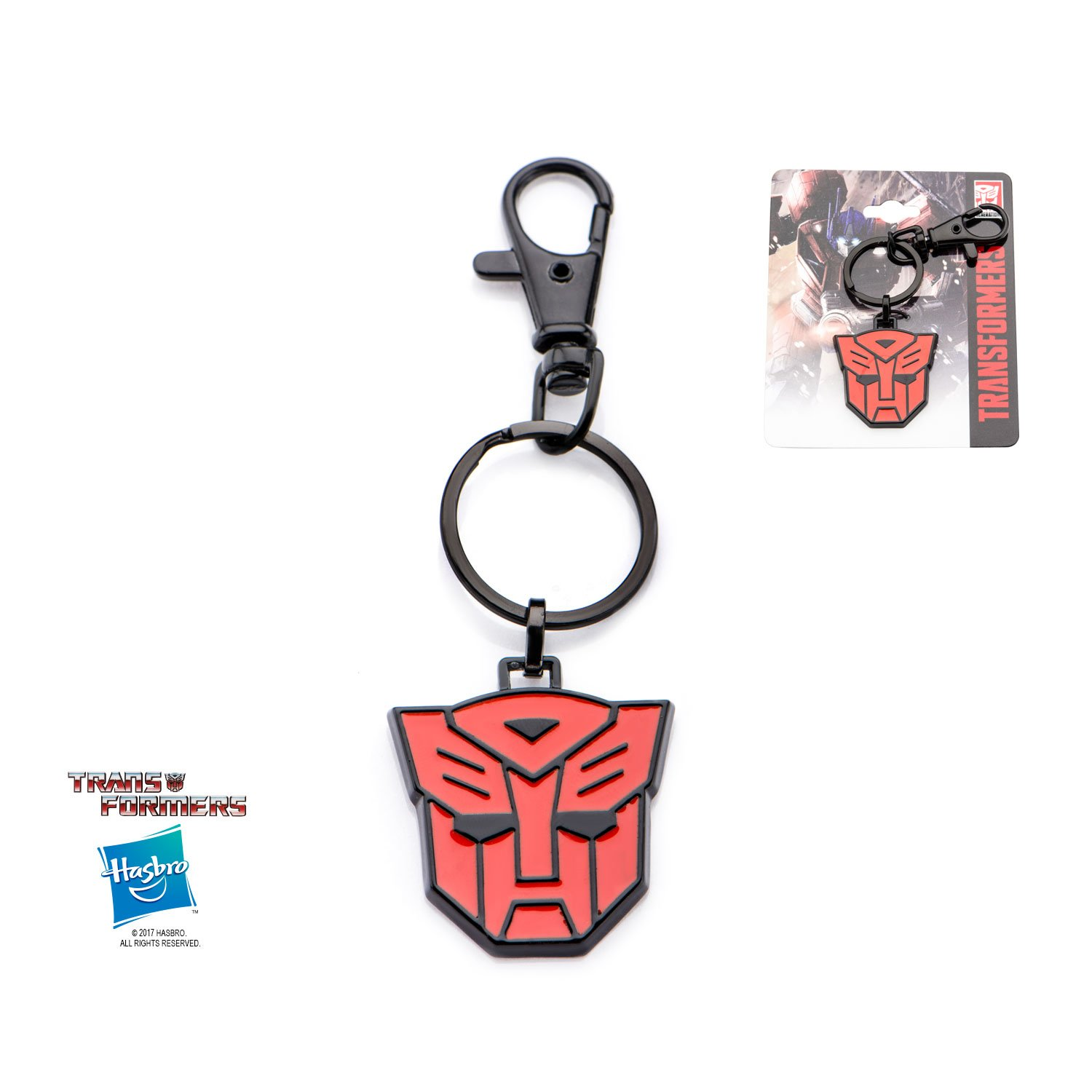 Transformers Autobot Stainless Steel Keychain w/Gift Box by Superheroes Brand by Superheroes Brand (Image #1)