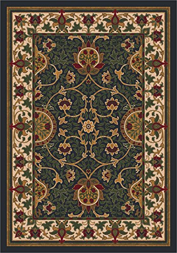 Milliken 4000032455 Pastiche Collection Sumero Octagon Area Rug, 7'7