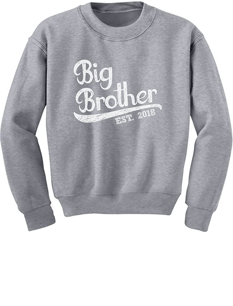 TeeStars Gift for Big Brother 2018 Youth Kids Sweatshirt