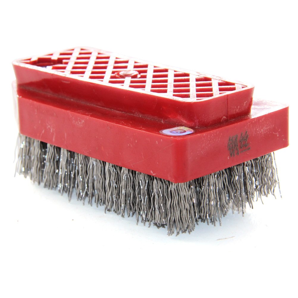Easy Light Fickert Antique Steel Wire Brush for Cleaning Granite Marble Quartzite Concrete Stone by Easy Light