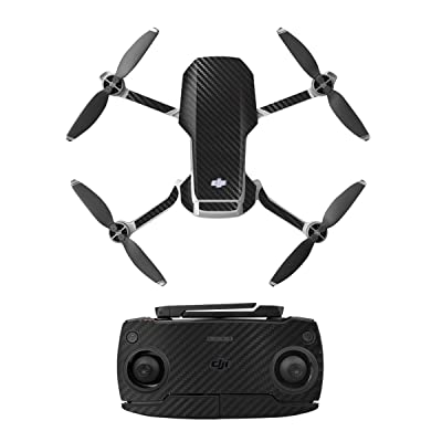 O'woda Decoration Sticker Controller Decals Set for DJI Mavic Mini Drone PVC Waterproof DIY Skin Drone Body Sticker Accessories (Black): Toys & Games